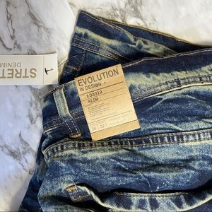 Evolution In Design Denim Stretch Jeans